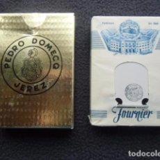 Barajas de cartas: BARAJA PUBLICITARIA. PEDRO DOMECQ. JEREZ DE LA FRONTERA.. Lote 87049724