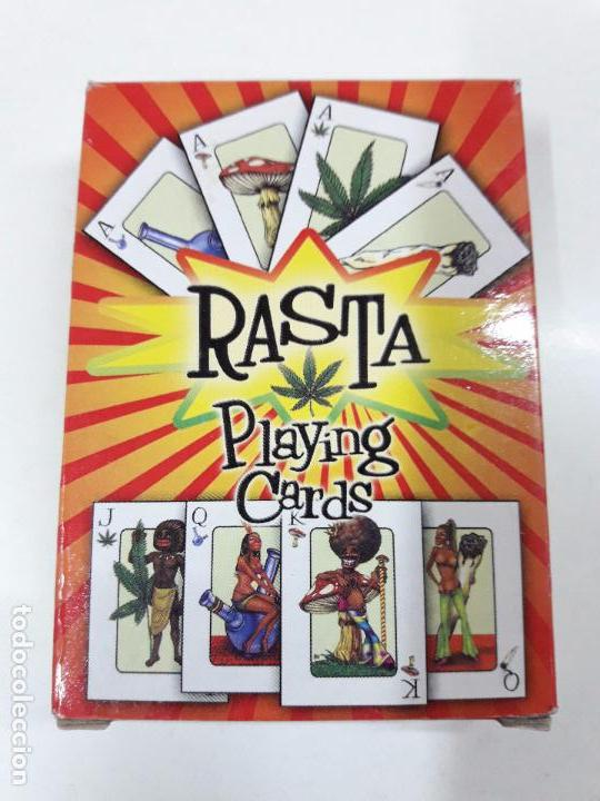 Barajas de cartas: BARAJA DE POKER RASTA - PLAYING CARDS - Foto 6 - 87101552