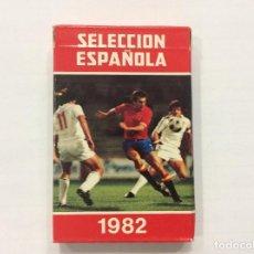 Barajas de cartas: BARAJA CARTAS SELECCIÓN ESPAÑOLA 1982. Lote 87214580