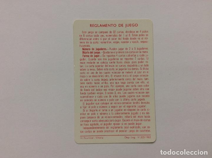 Barajas de cartas: Baraja Infantil BELFY Y LILLIBIT 1983 - Foto 4 - 87219448