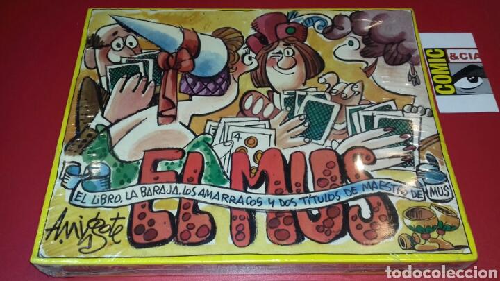 EL MUS DE MINGOTE. EL LIBRO, LA BARAJA.LOS AMARRACOS Y 2 TÍTULOS DE MAESTRO DE MUS (Juguetes y Juegos - Cartas y Naipes - Otras Barajas)