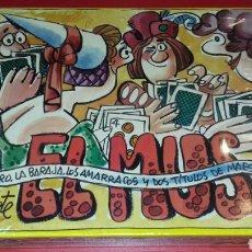 Barajas de cartas: EL MUS DE MINGOTE. EL LIBRO, LA BARAJA.LOS AMARRACOS Y 2 TÍTULOS DE MAESTRO DE MUS. Lote 145045482