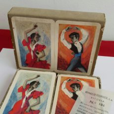Barajas de cartas: BARAJA NAIPES HERACLIO FOURNIER FLAMENCO. Lote 87252091