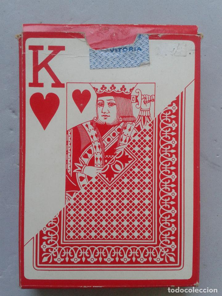 BARAJA DE POKER CLÁSICA. NAIPES HERACLIO FOURNIER VITORIA. (Juguetes y Juegos - Cartas y Naipes - Barajas de Póker)