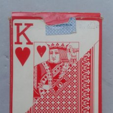 Barajas de cartas: BARAJA DE POKER CLÁSICA. NAIPES HERACLIO FOURNIER VITORIA.. Lote 87279748