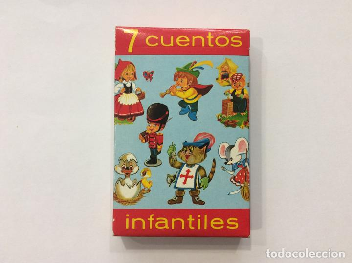 BARAJA INFANTIL 7 CUENTOS INFANTIL (Juguetes y Juegos - Cartas y Naipes - Barajas Infantiles)
