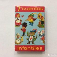 Barajas de cartas: BARAJA INFANTIL 7 CUENTOS INFANTIL. Lote 134745609