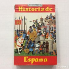 Barajas de cartas: BARAJA INFANTIL HISTORIA DE ESPAÑA 1964 CERRADA. Lote 87295788