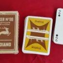 Barajas de cartas: BARAJA NAIPES VINTAGE MODIANO PODER N°98 ITALIA NAVIGAZIONE. Lote 87350624