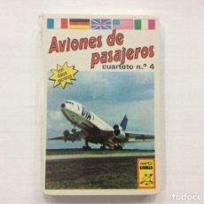 Barajas de cartas: BARAJA INFANTIL AVIONES DE PASAJEROS PRECINTADAS. Lote 87406468