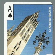 Barajas de cartas: BARAJA DE POKER CON IMAGENES Y MONUMENTOS DE ANDALUCIA - NUEVA. Lote 87443904