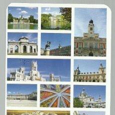 Barajas de cartas: BARAJA DE POKER CON IMAGENES Y MONUMENTOS DE MADRID - NUEVA. Lote 87461128