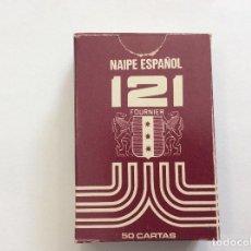 Barajas de cartas: BARAJA NAIPE ESPAÑOL 121 MINIS HERACLIO FOURNIER 1968. Lote 87491848