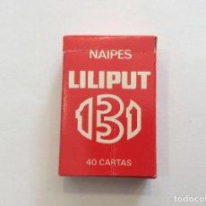 Barajas de cartas: BARAJA NAIPE ESPAÑOL 131 MINIS HERACLIO FOURNIER . Lote 87492400