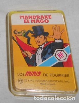 BARAJA LOS MINIS DE FOURNIER, MANDRAKE EL MAGO (Juguetes y Juegos - Cartas y Naipes - Barajas Infantiles)