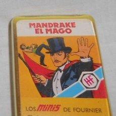 Barajas de cartas: BARAJA LOS MINIS DE FOURNIER, MANDRAKE EL MAGO. Lote 87578608
