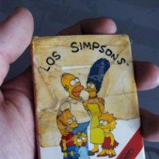 Barajas de cartas: BARAJA CARTAS INCOMPLETA LOS PSIMPSONS. Lote 87686768