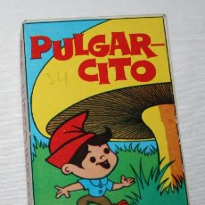 Barajas de cartas: BARAJA INFANTIL COMPLETA 31 CARTAS, PULGARCITO, NAIPES COMAS 1968. Lote 87690356