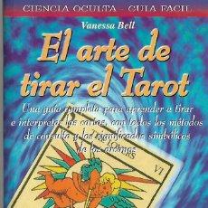 Barajas de cartas: LIBRO DE 160 PAGINAS DEL ARTE DE TIRAR EL TAROT CON DIBUJOS EN BLANCO Y NEGRO. Lote 88153816