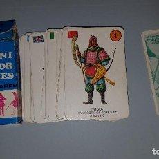 Barajas de cartas: BARAJA INFANTIL COMPLETA EL JUEGO DE LOS UNIFORMES MILITARES - EDICIONES RECREATIVAS 1970. Lote 89498496