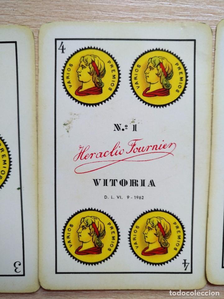 Barajas de cartas: BARAJA Heraclio Fournier.40 CARTAS, COMPLETA PUBLICIDAD IBERIA Lineas Aereas 1962 - Foto 2 - 89692296