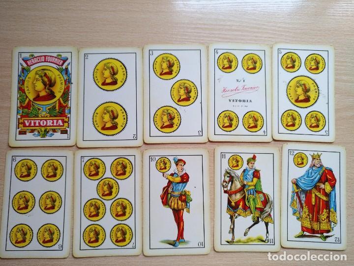 Barajas de cartas: BARAJA Heraclio Fournier.40 CARTAS, COMPLETA PUBLICIDAD IBERIA Lineas Aereas 1962 - Foto 8 - 89692296