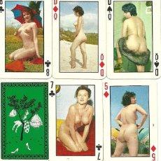Barajas de cartas: BARAJA DE POKER EROTICA - AÑOS 70. Lote 90036544