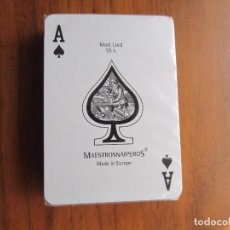 Barajas de cartas: BARAJA DE POKER NUEVA MODELO LORD 50 C. VER FOTOS. Lote 90749685