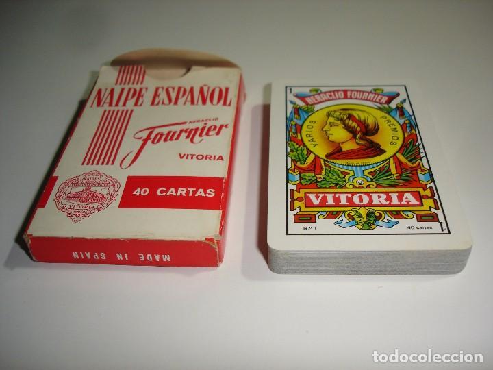 Barajas de cartas: BARAJA CARTAS, HERACLIO FOURNIER - SUPERMERCADOS SPAR. 40 NAIPES - Foto 4 - 90836925