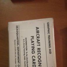 Barajas de cartas: BARAJA DE CARTAS DE RECONOCIMIENTO AEREO DE USA. Lote 90913779