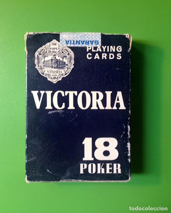 JUEGO POKER - HERACLIO FOURNIER VITORIA - 54 CARTAS (Juguetes y Juegos - Cartas y Naipes - Barajas de Póker)