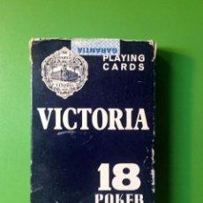 Barajas de cartas: JUEGO POKER - HERACLIO FOURNIER VITORIA - 54 CARTAS. Lote 91006150