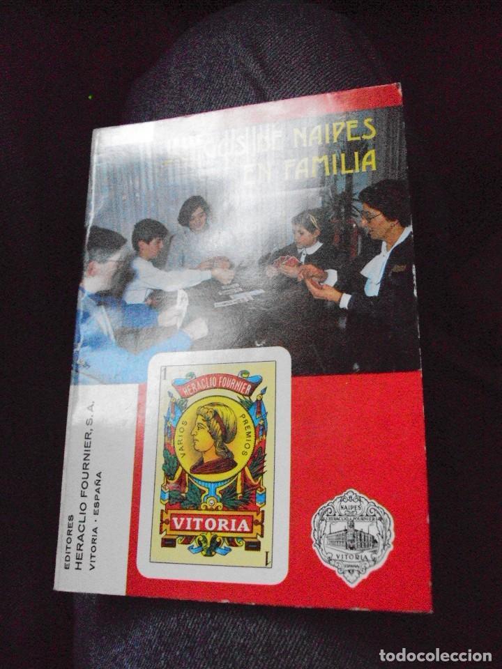 JUEGOS DE NAIPES EN FAMILIA DE FOURNIER 1985 (Juguetes y Juegos - Cartas y Naipes - Baraja Española)