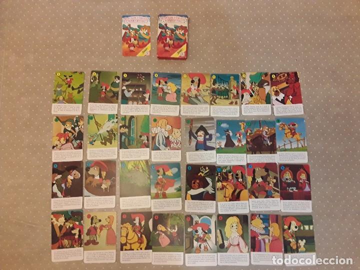 Barajas de cartas: BARAJA CARTAS FOURNIER DARTACAN Y LOS TRES MOSQUEPERROS AÑO 1981 COMPLETA - Foto 2 - 91536985