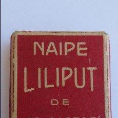 Barajas de cartas: BARAJA NAIPE LILIPUT, FOURNIER VITORIA . Lote 91761120