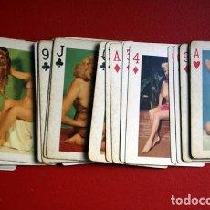 Barajas de cartas: BARAJA PIN UP - AÑOS 40 - 54 CARTAS (52+2 JOKER) - MODELS OF ALL NATIONS. Lote 91982530
