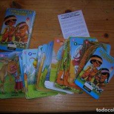Jeux de cartes: MUY RARA BARAJA DE FAMILIAS DE OCHO PAISES VER FOTOS. Lote 152047658