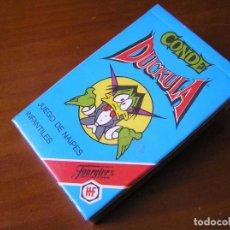 Barajas de cartas: CONDE DUCKULA DRAKULA BARAJA PRECINTADA SIN USAR 33 CARTAS NAIPES FOURNIER 1991. Lote 92337355