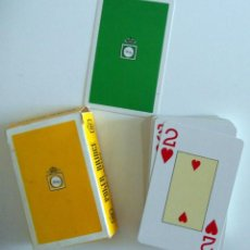 Barajas de cartas: BARAJA CARTAS NAIPES HERACLIO FOURNIER. TONICA FINLEY. ANTIGUA. POKER 55 NAIPES PLASTIFICADOS. Lote 92476855