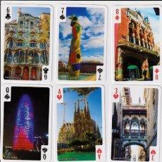 Barajas de cartas: BARAJA POKER TURISTICA DE BARCELONA. Lote 102064255