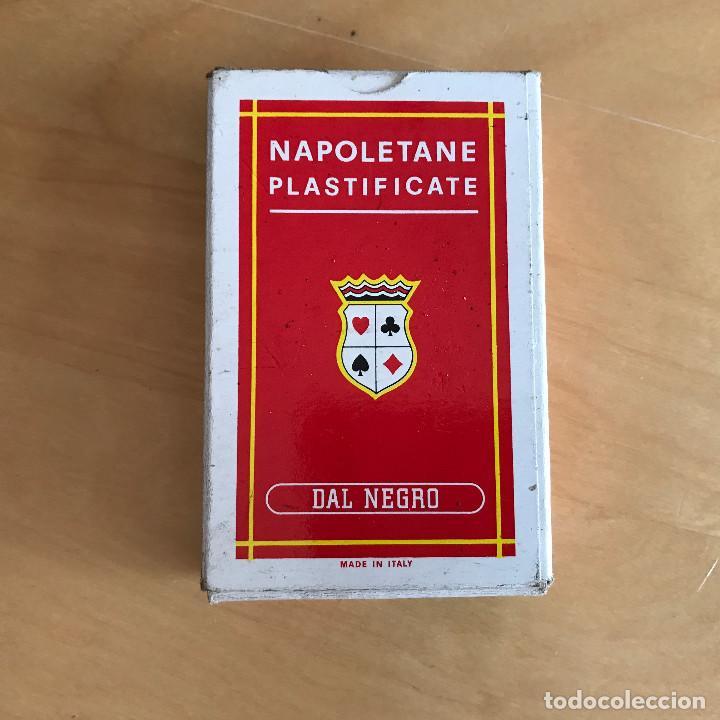 BARAJA DE CARTAS NAPOLETANE PLASTIFICATE. DAL NEGRO (Juguetes y Juegos - Cartas y Naipes - Baraja Española)