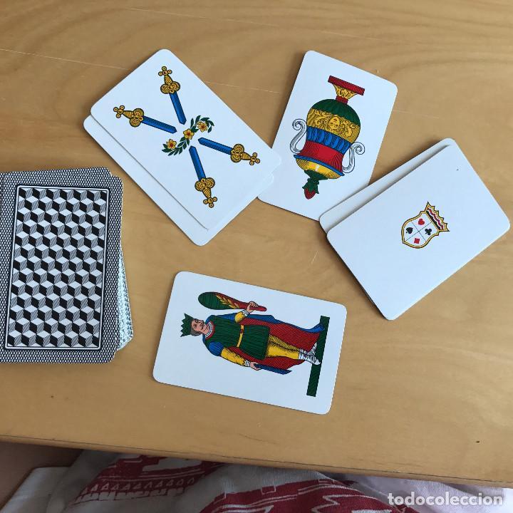 Barajas de cartas: BARAJA DE CARTAS NAPOLETANE PLASTIFICATE. DAL NEGRO - Foto 2 - 92704340