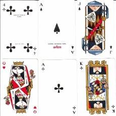 Barajas de cartas: JUEGO 2 BARAJAS DE POKER DE ARIES. Lote 92832555