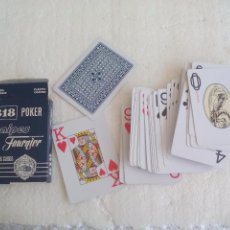 Barajas de cartas: BARAJA DE CARTAS DE POKER. Nº 818. NAIPES HERACLIO FOURNIER. PLAYING CARDS.. Lote 92919640