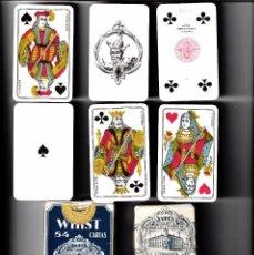 Barajas de cartas: BARAJAS DE POKER LOS ESCUDOS DE HIJOS H. FOURNIER. + LOS ESCUDOS DE HERACLIO FOURNIER. Lote 92948255