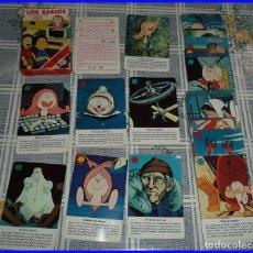 Barajas de cartas: LOS SABIOS PRESENTADOS POR MIR BARAJA CARTAS FOURNIER 1984 33 CARTAS EN SU CAJA CON INSTRUCCIONES . Lote 92948540
