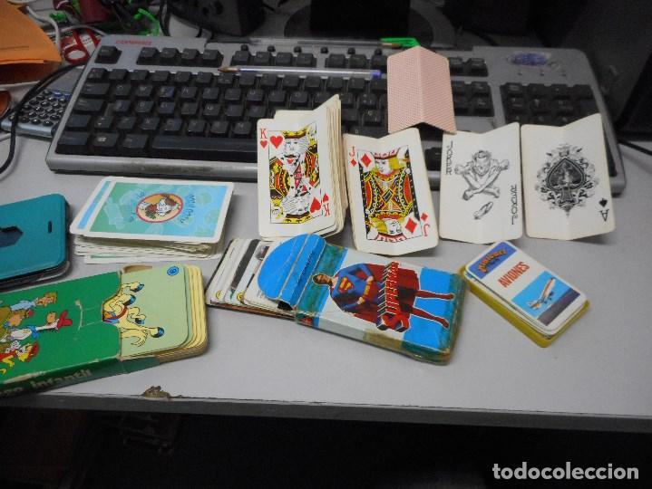 LOTE COLECCION BARAJAS BARAJA VARIAS (Juguetes y Juegos - Cartas y Naipes - Otras Barajas)