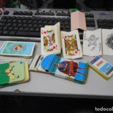 Barajas de cartas: LOTE COLECCION BARAJAS BARAJA VARIAS. Lote 93131725