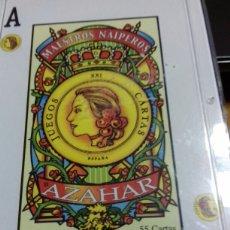 Barajas de cartas: NAIPES MAESTROS NAIPEROS AZAHAR. Lote 93298775