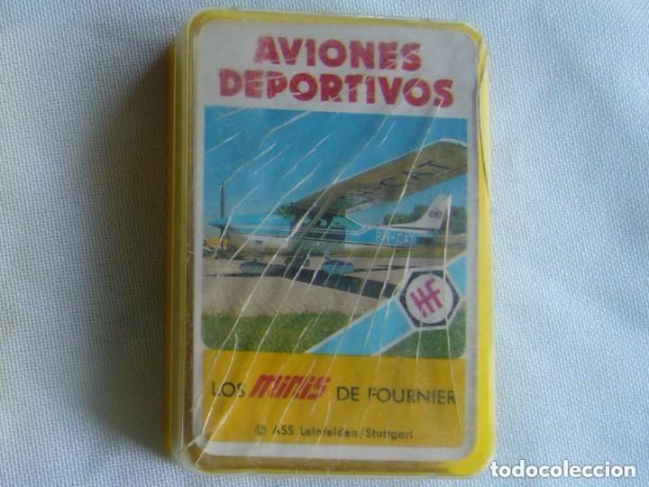 AVIONES DEPORTIVOS. LOS MINIS DE FOURNIER (Juguetes y Juegos - Cartas y Naipes - Otras Barajas)